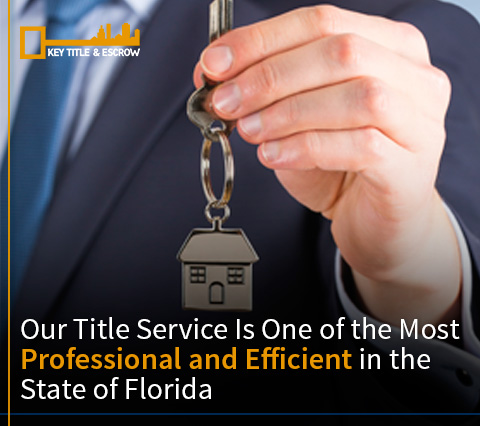 Picture of a Key Title and Escrow Title Agent Who Offers Professional Title Service