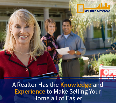 Picture of a Miami Realtor Working With a Title and Escrow Company