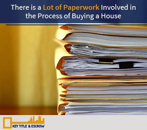 Picture of Paperwork Involved in a Purchase Agreement. If You Are Going Through this Process Contact an Orlando Title Insurance Company