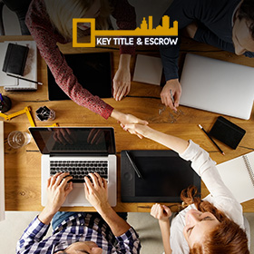 Picture of a Meeting with Title and Escrow Service Provider