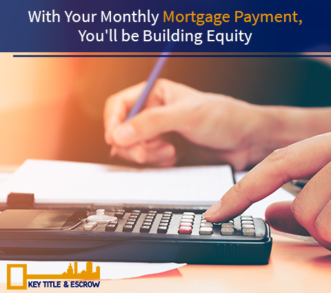 Picture of a Person Paying Mortgage