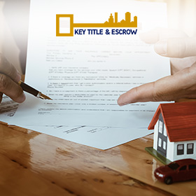 Miami Title and Escrow Company Key Title and Escrow Making a Closing