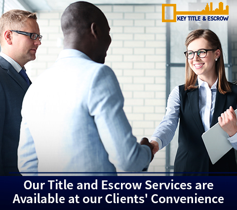 Picture of a Key Title and Escrow Agent Offering Efficient Broward Title and Escrow Services