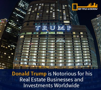 Picture of Trump Tower. President Trump is a Business Man will his Policies Affect Florida's Real Estate Market?