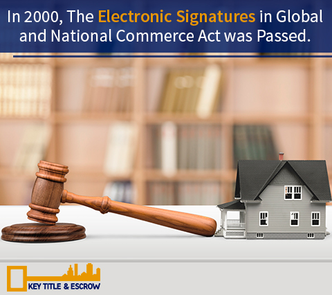 Picture of the Electronic Signatures Act