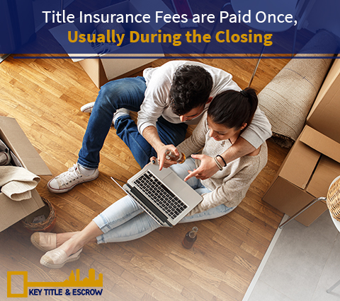Picture of New Homeowners Paying the Title Insurance to a Title and Escrow Service Provider in Florida